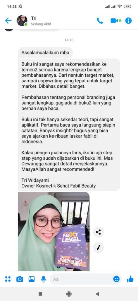 Mba Tiwi - Owner Kosmetik Sehat Fabil Beauty